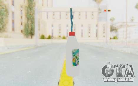 Hatsuni Miku Molotov für GTA San Andreas zweiten Screenshot