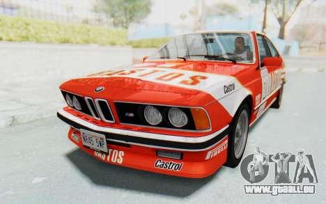 BMW M635 CSi (E24) 1984 IVF PJ3 pour GTA San Andreas moteur