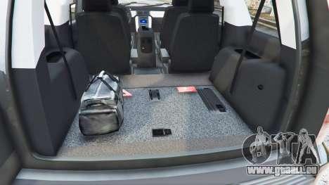 GTA 5 Chevrolet Tahoe volant