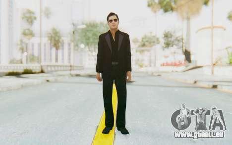Mafia 2 - Vito Scaletta Madman Suit Black pour GTA San Andreas deuxième écran