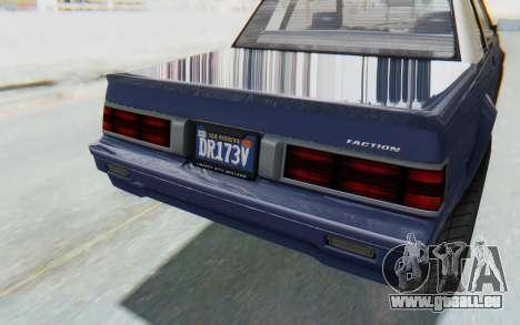GTA 5 Willard Faction Custom Donk v3 IVF für GTA San Andreas Seitenansicht