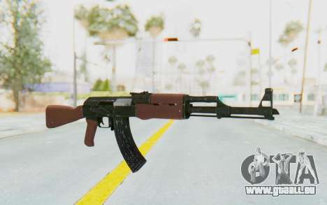 GTA 5 Shrewsbury Assault Rifle für GTA San Andreas zweiten Screenshot