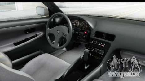 Nissan 240SX 1994 v2 pour GTA San Andreas vue intérieure