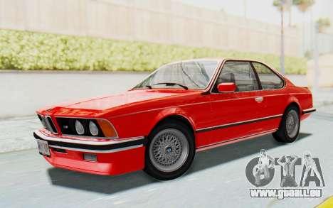 BMW M635 CSi (E24) 1984 IVF PJ2 pour GTA San Andreas