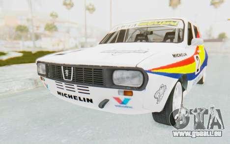 Dacia 1300 Rally pour GTA San Andreas vue de droite