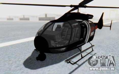 GTA 5 Maibatsu Frogger Trevor IVF pour GTA San Andreas vue de droite