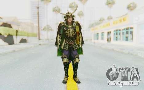 Sengoku Musou 4 - Date Masamune pour GTA San Andreas deuxième écran