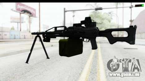 Kalashnikov PK (PKM) Holo für GTA San Andreas dritten Screenshot