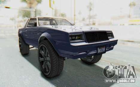 GTA 5 Willard Faction Custom Donk v3 IVF für GTA San Andreas rechten Ansicht