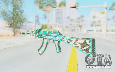CS:GO - AK-47 Front Side Misty für GTA San Andreas zweiten Screenshot