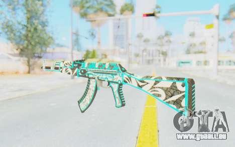 CS:GO - AK-47 Front Side Misty für GTA San Andreas zweiten Screenshot