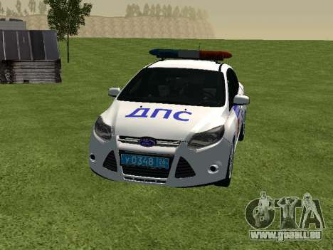 Ford Focus ДПС pour GTA San Andreas