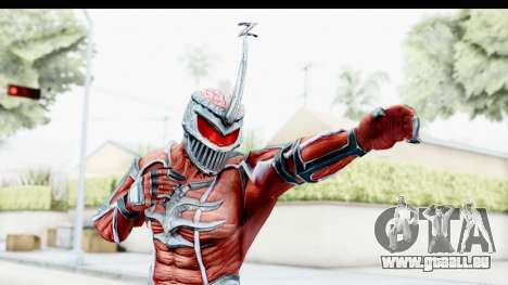 Lord Zedd from Power Rangers Mighty Morphin pour GTA San Andreas