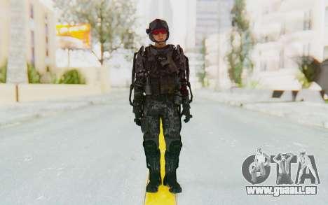 CoD Advanced Warfare ATLAS Soldier 1 pour GTA San Andreas deuxième écran