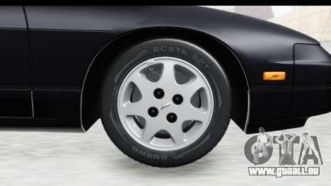 Nissan 240SX 1994 v2 für GTA San Andreas Rückansicht
