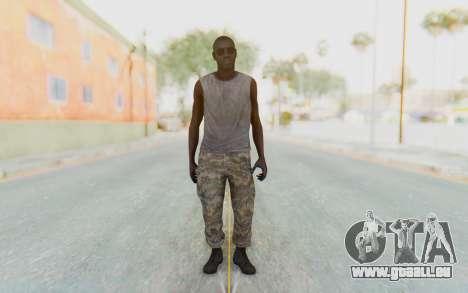 CoD MW3 Africa Militia v5 pour GTA San Andreas deuxième écran
