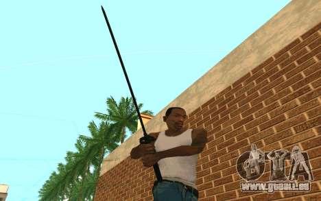 Sword of Blades pour GTA San Andreas quatrième écran