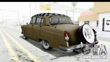 GAZ-21 Hamann H22 pour GTA San Andreas laissé vue
