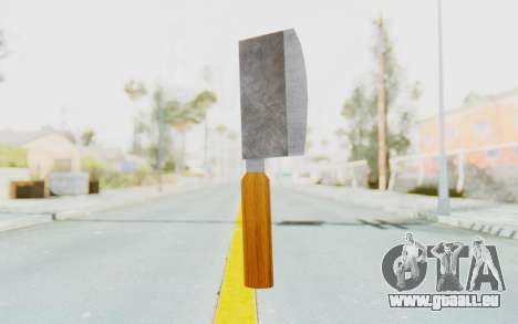 Butcher Knife pour GTA San Andreas