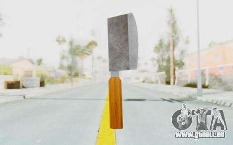 Butcher Knife für GTA San Andreas
