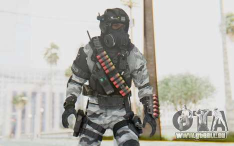 Federation Elite Shotgun Arctic für GTA San Andreas