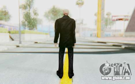 Skeleton in Tuxedo für GTA San Andreas dritten Screenshot