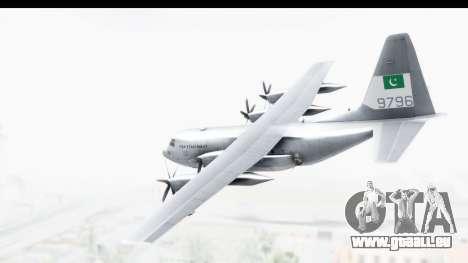 C-130 Pakistan pour GTA San Andreas laissé vue