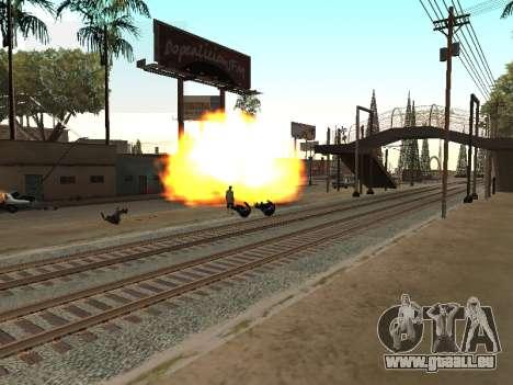 Blast machines pour GTA San Andreas deuxième écran