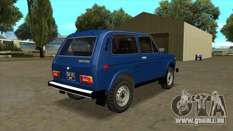 VAZ 2121 pour GTA San Andreas laissé vue