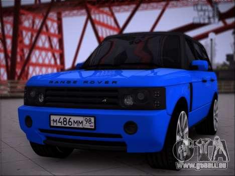 Range Rover Sport Pintoresca pour GTA San Andreas