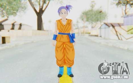 Dragon Ball Xenoverse Female Saiyan SJ für GTA San Andreas zweiten Screenshot