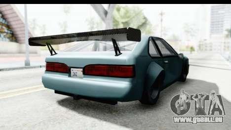 Fortune Korc pour GTA San Andreas vue de droite