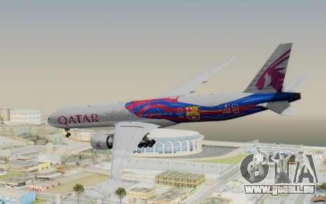 Boeing 777-300ER Qatar Airways v2 pour GTA San Andreas laissé vue