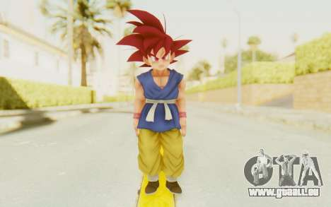 Dragon Ball Xenoverse Goku Kid GT SSG für GTA San Andreas zweiten Screenshot