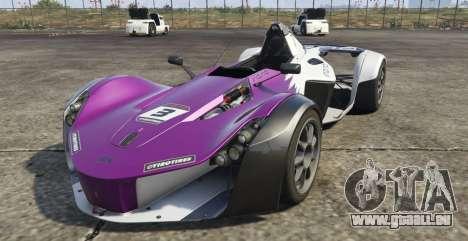 BAC Mono für GTA 5