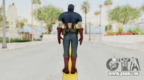 Captain America Super Soldier Classic für GTA San Andreas dritten Screenshot