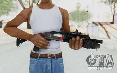 M870 from Rainbow Six: Siege pour GTA San Andreas troisième écran