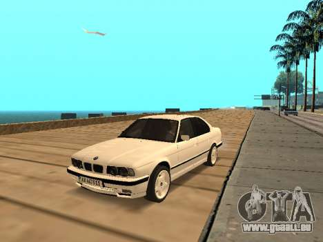 BMW E34 - EK edition für GTA San Andreas