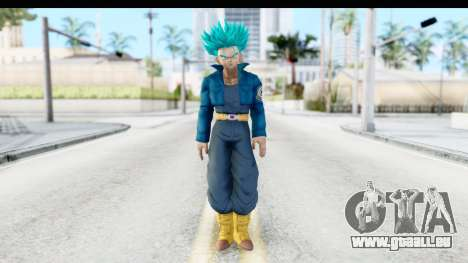 Dragon Ball Xenoverse Future Trunks SSGSS für GTA San Andreas zweiten Screenshot