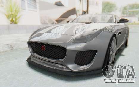 Jaguar F-Type Project 7 für GTA San Andreas