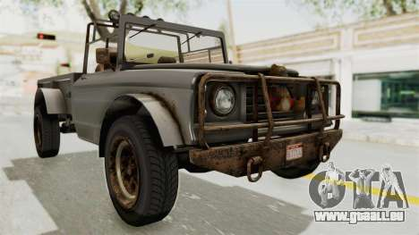 GTA 5 Canis Bodhi Trevor IVF pour GTA San Andreas