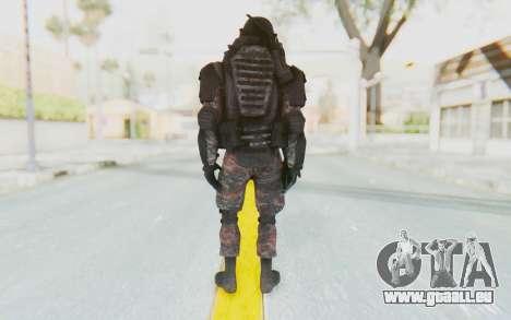 COD MW2 Russian Paratrooper v3 pour GTA San Andreas troisième écran