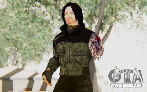 Bucky Barnes (Winter Soldier) v2 für GTA San Andreas
