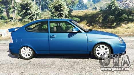 GTA 5 Lada Priora Sport Coupe v0.1 linke Seitenansicht