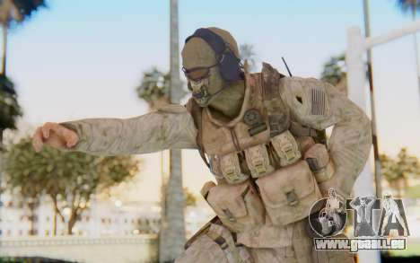 CoD MW2 Ghost Model v2 pour GTA San Andreas