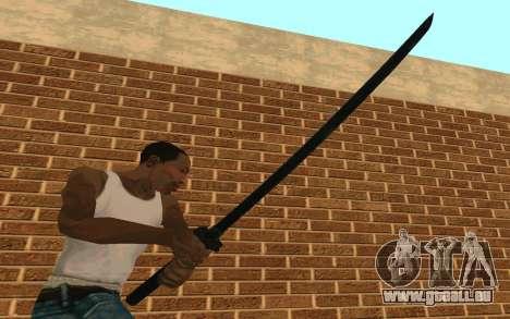 Sword of Blades pour GTA San Andreas troisième écran