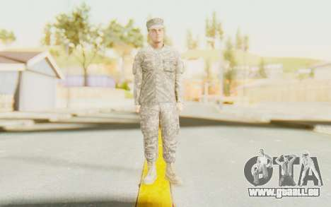Military Casual Outfit für GTA San Andreas zweiten Screenshot