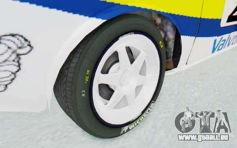 Dacia 1300 Rally pour GTA San Andreas vue arrière