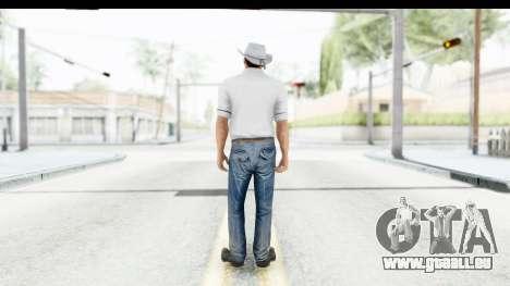GTA 5 Mexican Gang 1 pour GTA San Andreas troisième écran