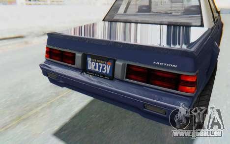 GTA 5 Willard Faction Custom Donk v3 IVF für GTA San Andreas obere Ansicht
